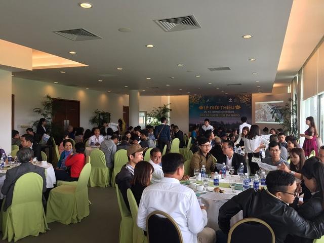 Lễ giới thiệu dự án Sentosa Riverside thu hút hàng trăm lượt khách hàng tham dự
