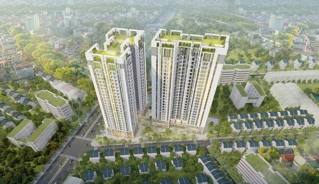 Sky Central, dự án chung cư hiếm hoi tại nội đô có 3 tầng hầm