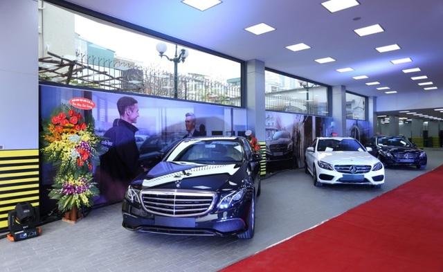 Các mẫu xe đẳng cấp nhất từ thương hiệu Mercedes-Benz đều xuất hiện tại Haxaco Kim Giang