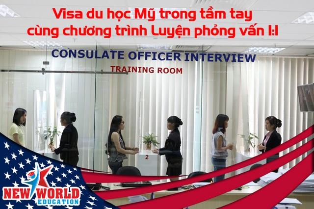 Visa du học Mỹ trong tầm tay cùng chương trình Luyện phỏng vấn Mỹ 1:1 - 2