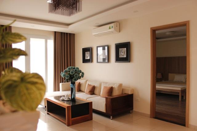 Các căn hộ luôn hướng sáng và thông thoáng tự nhiên.