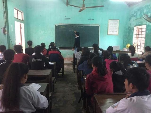 Lớp học miễn phí cho 70 em học sinh lớp 12