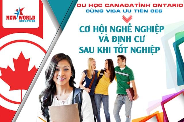 Du học Canada tỉnh Ontario - Cơ hội việc làm và định cư cùng Visa ưu tiên CES - 2
