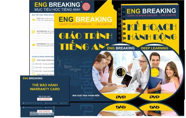 Trọn bộ giáo trình Eng Breaking dành cho người mới bắt đầu học tiếng Anh giao tiếp (kèm thẻ bảo hành 6 tháng).
