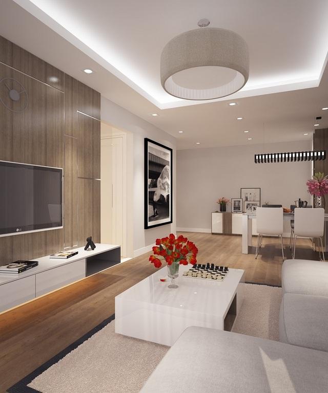 Các căn hộ dự án có diện tích đa dạng, thiết kế hiện đại.