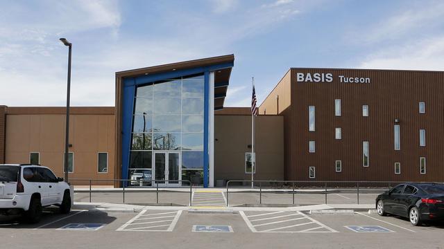 """""""Về nhì""""là trường BASIS Tucson North ở Arizona."""