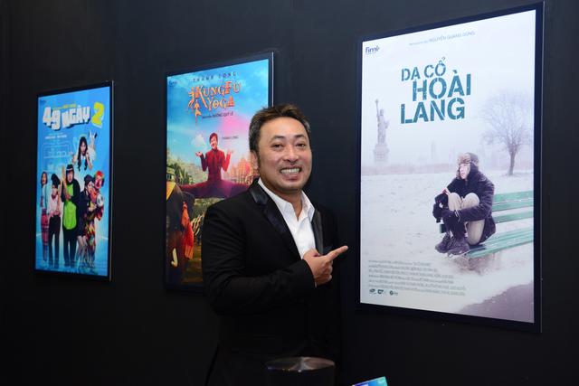"""Cũng là một khách mời trong sự kiện ra mắt TV QLED 2017, đạo diễn Nguyễn Quang Dũng nhận xét: """"TV QLED 2017 thể hiện hoàn hảo nội dung phim 4K…Tôi rất tự hào vì bộ phim Dạ Cổ Hoài Lang được trình chiếu sớm và duy nhất trên TV QLED."""""""