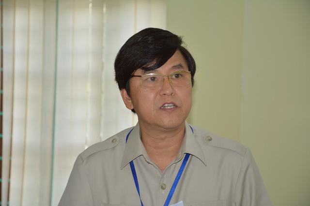 Ông Vũ Văn Kiểm - Giám đốc Sở GD&ĐT tỉnh Ninh Bình.