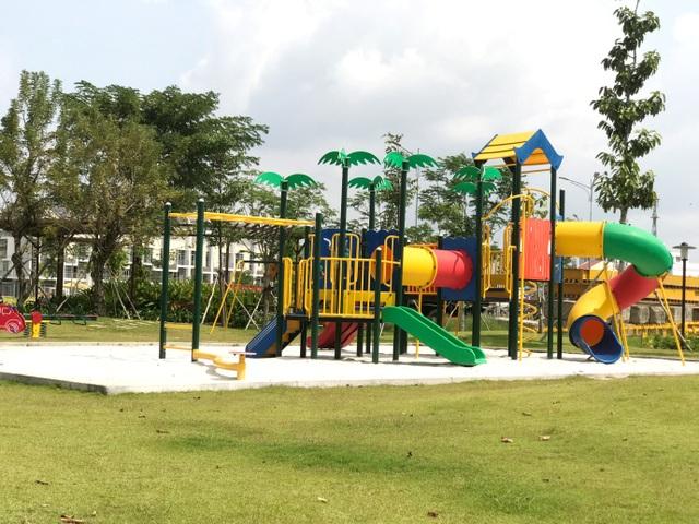 Công viên trẻ em nằm trong khuôn viên dự án Jamona Heights đã hoàn thiện