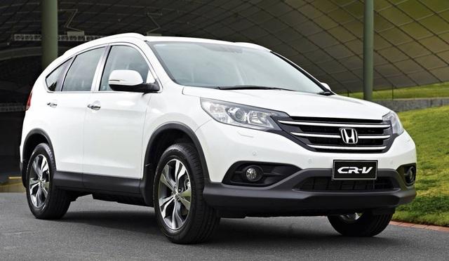 CR-V là mẫu xe có mức giảm giá mạnh nhất của Honda.