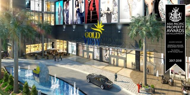 Tại The GoldView, các chủ nhân sẽ được tận hưởng trọn vẹn mọi khoảnh khắc tuyệt vời của cuộc sống với đầy đủ các tiện ích xứng tầm.