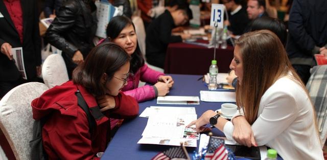 Gói hỗ trợ tài chính khổng lồ tại Triển lãm Du học 54 trường Mỹ - 2
