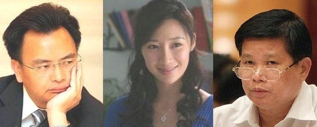 Vạn Khánh Lương, Hứa Thu Lâm, Trần Hoằng Bình (phải)