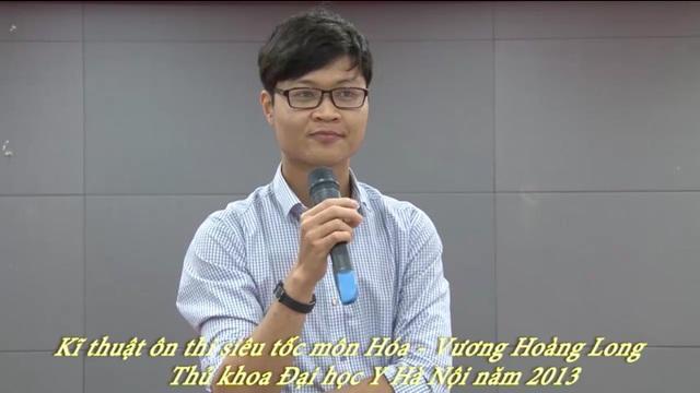 Nhiều bạn ôn thi THPT 2017 theo khoá học siêu tốc hoá của Vương Hoàng Long.
