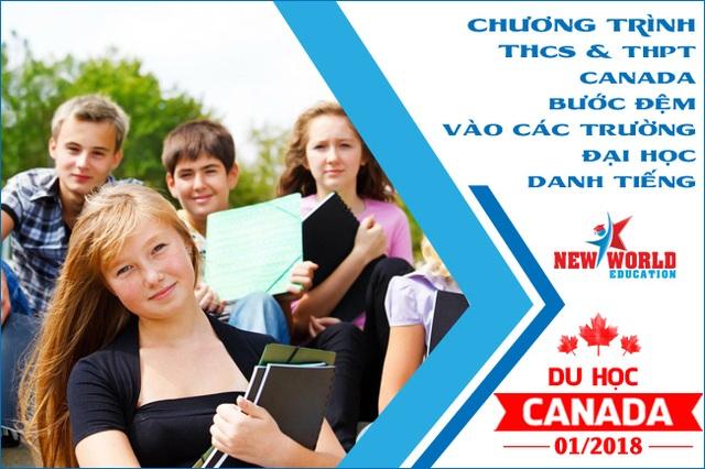 Ghi danh ngay kỳ nhập học Tháng 01/2018 bậc học THCS & THPT tại Canada dành cho học sinh Việt Nam - 2