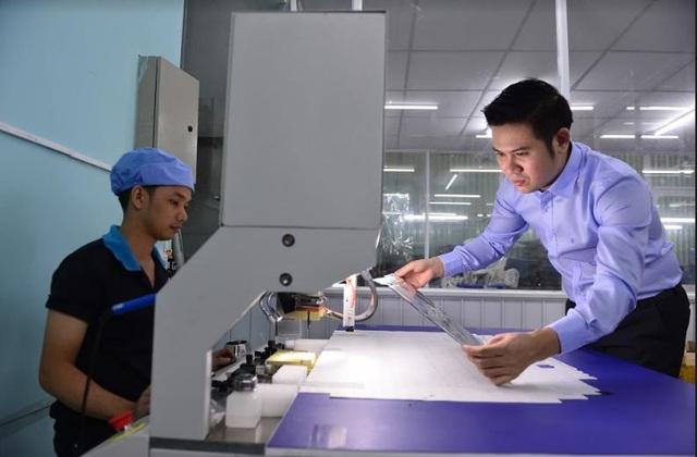 Công nghệ sẽ giúp quản lý hiệu quả nhất về mọi mặt của hoạt động kinh doanh từ sản xuất, phân phối, nhân sự, tài chính