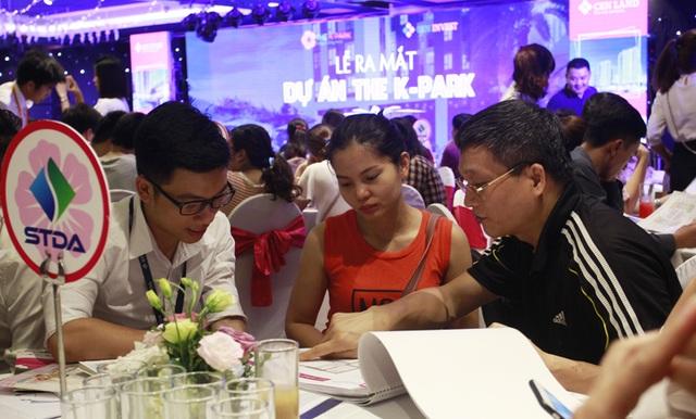 Đối tượng khách hàng quan tâm nhiều nhất tới dự án The K – Park là những khách hàng trẻ, có nhu cầu ở thực