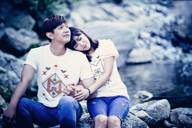 Trong phim, chuyện tình của bộ đôi chính Ji Hyun – Eun Ji vô cùng lãng mạn, và ngọt ngào …
