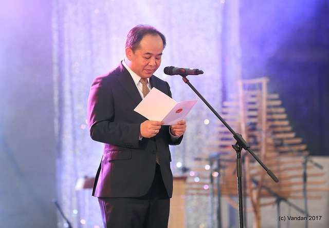 Thứ trưởng Bộ Văn hóa, Thể thao và Du lịch Lê Khánh Hải.