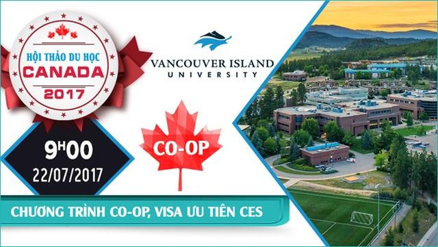Hội thảo du học Canada – Chương trình CO-OP và Visa ưu tiên gần như tuyệt đối dành cho sinh viên Việt nam - 2