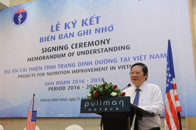 Dự án hợp tác chiến lược với Bộ Y tế vì sức khỏe người Việt
