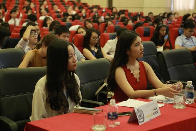 Chương trình thu hút sự quan tâm của các bạn trẻ.