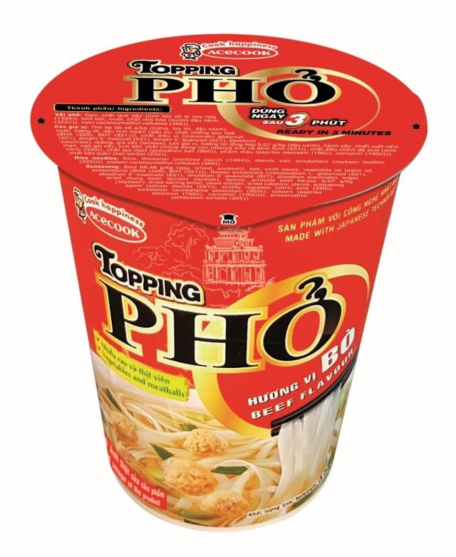 Acecook Việt Nam ra mắt hai sản phẩm Phở chất lượng mới và thay đổi bao bì Hảo Hảo Mì Xào - 3