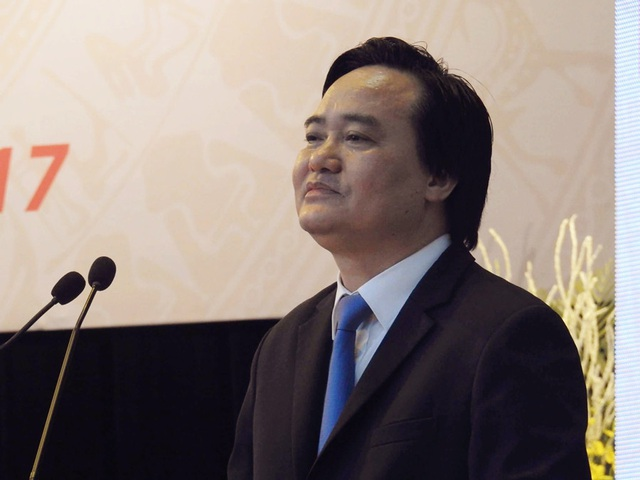 Bộ trưởng Phùng Xuân Nhạ khẳng định, hoạt động KHCN trong các cơ sở giáo dục đã có bước chuyển biến tích cực.