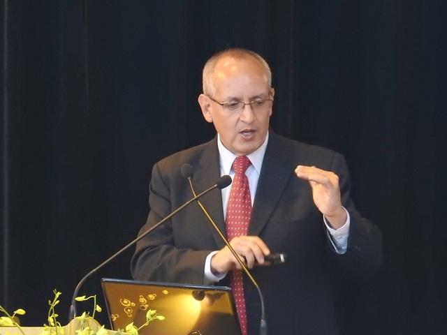 Ông Francisco Marmolejo, đại diện Ngân hàng Thế giới.