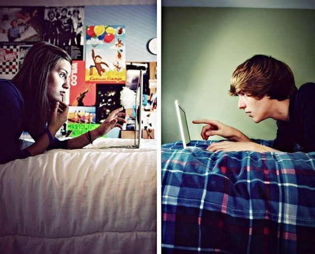 Tỷ lệ tan vỡ tình yêu của các cặp đôi trẻ tuổi ngày càng cao là do các hoạt động truyền thông xã hội (Ảnh minh họa)