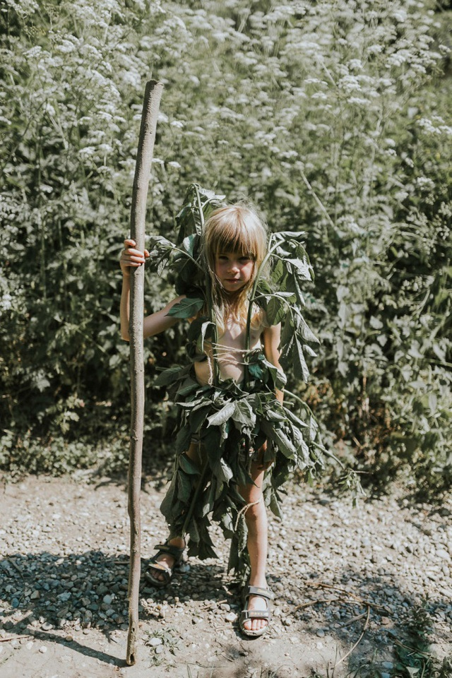 Để con cái thoải mái gần gũi thiên nhiên