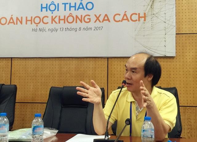 Chương trình Toán phổ thông mới: Giải căn nguyên người Việt giỏi nhưng nghèo! - 2