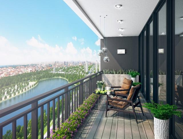 Các căn hộ được thiết kế thông minh đón nắng và gió tự nhiên