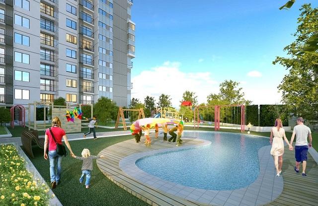 Lựa chọn an cư tại The TWO Residence, cư dân sẽ có được cuộc sống thư thái và hạnh phúc