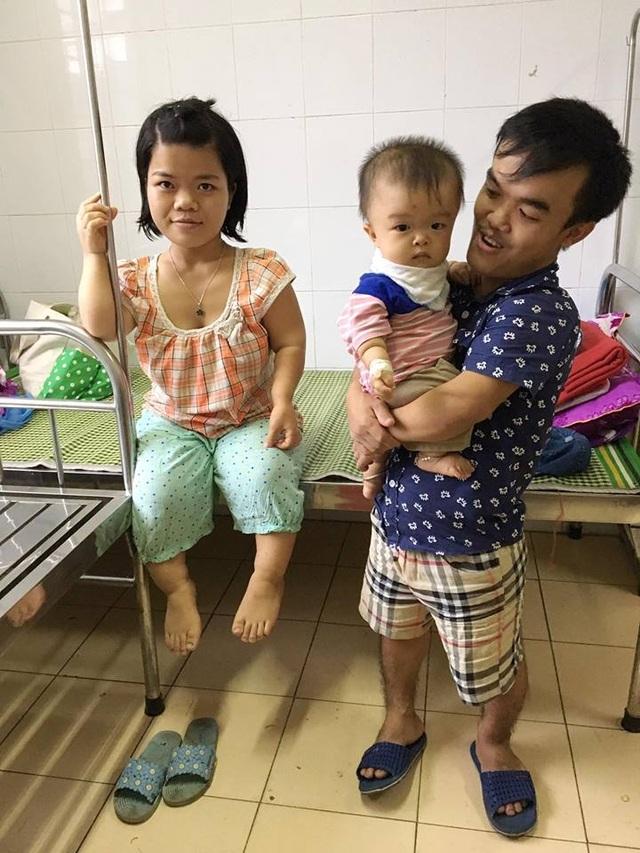 Tổ ấm gia đình hạnh phúc, bé nhỏ của gia đình anh Thịnh hôm nay