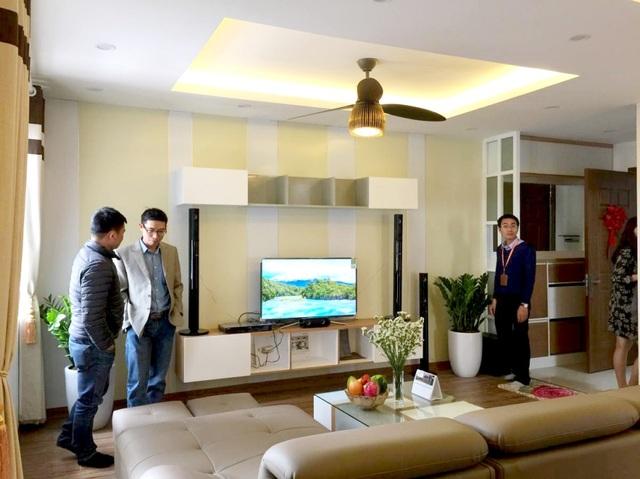 Căn hộ Dream Center Home thu hút sự quan tâm từ khách hàng
