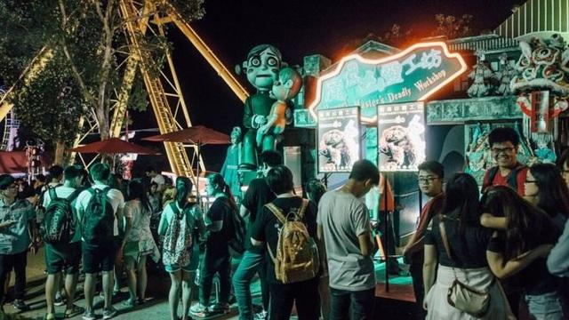 Chương trình lễ hội Halloween của công viên được tổ chức hằng năm, bắt đầu từ 2001
