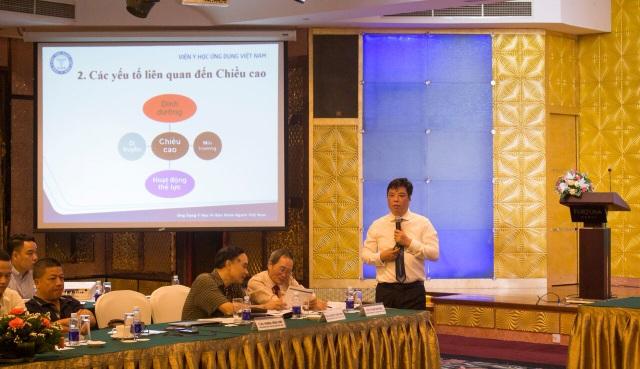 TS.BS Trương Hồng Sơn giới thiệu các yếu tố tăng trưởng chiều cao