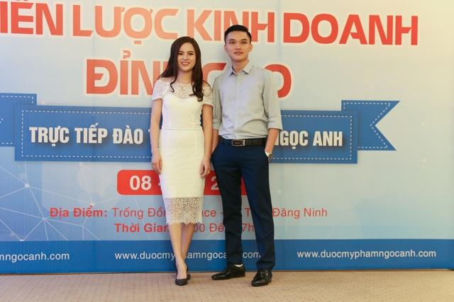 Nữ doanh nhân trẻ Vũ Hòa và Giám đốc Ngọc Anh