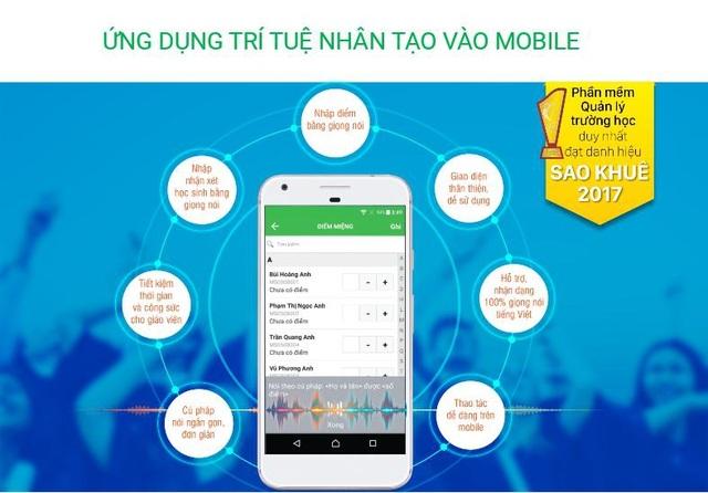 Trợ lý nhập liệu số đầu tiên tại Việt Nam trên phần mềm Quản lý trường học QLTH.VN giúp giảm nhẹ công sức cho giáo viên