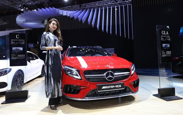 Mercedes-AMG GLA 45 4MATIC vẫn rất tiện nghi dù có thiên hướng thể thao