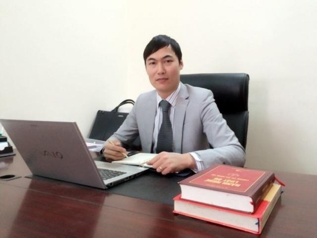 LS Quách Thành Lực - Giám đốc Cty Luật Hà Nội Tinh hoa.