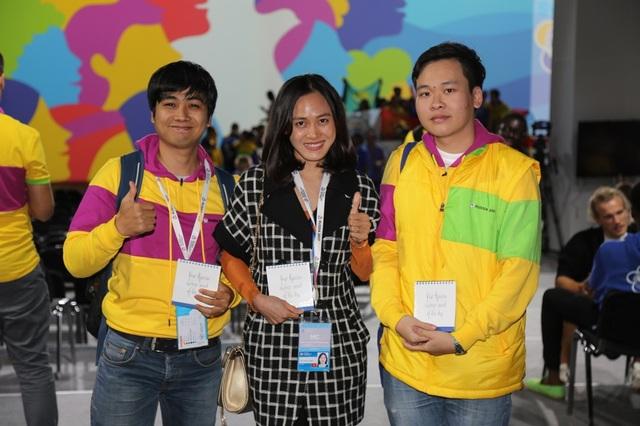 Đại diện đoàn Việt Nam tại WFYS 2017