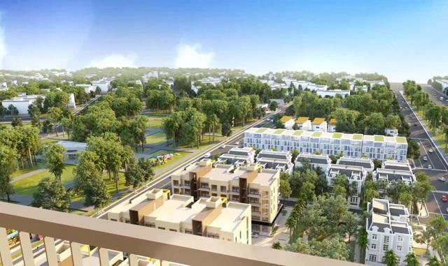 Mật độ xây dựng thấp nhất khu đô thị Việt Hưng chỉ 28% trên tổng diện tích
