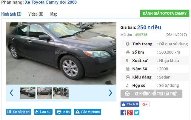 Giảm giá không phanh, xe cũ giá tầm 100 triệu đồng rao bán ồ ạt - 3