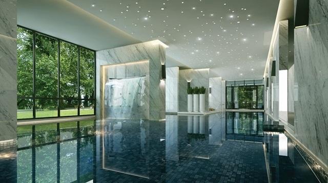 Bể bơi 4 mùa - nước nóng giúp xua đi cảm giác ngại bơi lội trong mùa đông.