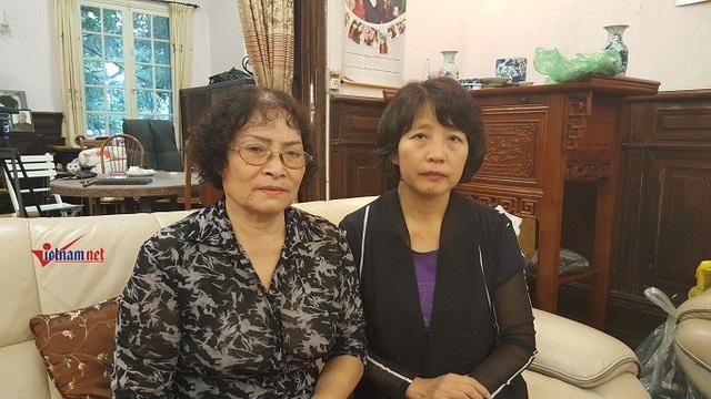Hai người con dâu ở cùng cụ Minh Hồ trong những năm tháng cuối đời. Ảnh: Diệu Bình