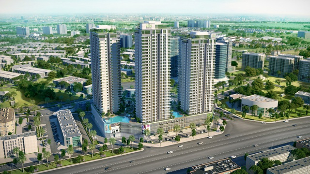 The ZEN Residence – căn hộ thông minh trong lòng đô thị xanh