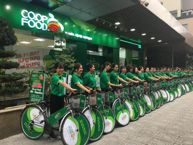 Hai cửa hàng đầu tiên của Co.op Food Hà Nội tại Hapulico và Bắc Hà chính thức khai trương vào ngày 25/11/2017 (Nguồn: Co.op Food)