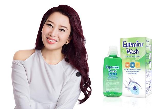 Dung dịch rửa mắt Eyemiru Wash giúp hình thành thói quen tốt cho mắt